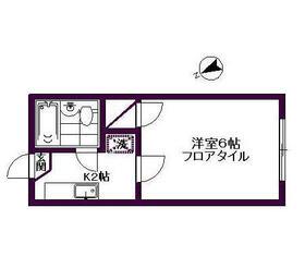 モンシャトー87・103号室の間取り