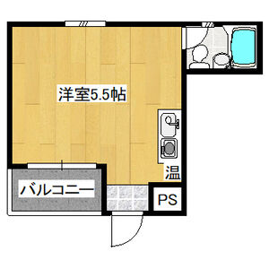 ALEGRIA PLACE徳川町・4A号室の間取り