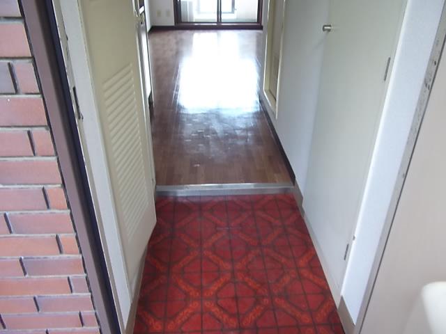 五十嵐マンション 302号室の玄関