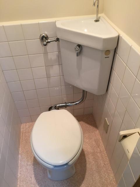 神明富士美マンション 103号室のトイレ