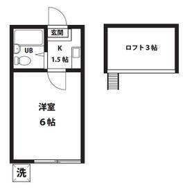 YKマンション・103号室の間取り