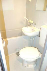 ジョイフル御池 404号室のトイレ