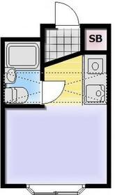 ベルピア常盤平3・201号室の間取り