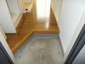 洛友 0107号室の玄関