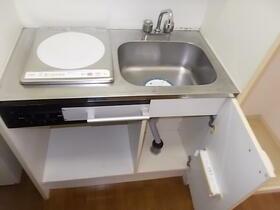 洛友 0107号室のキッチン