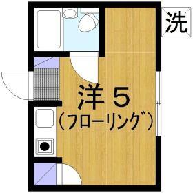 ピュアハウス桜ヶ丘・103号室の間取り