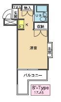 メゾン・ド・サージュ・0401号室の間取り