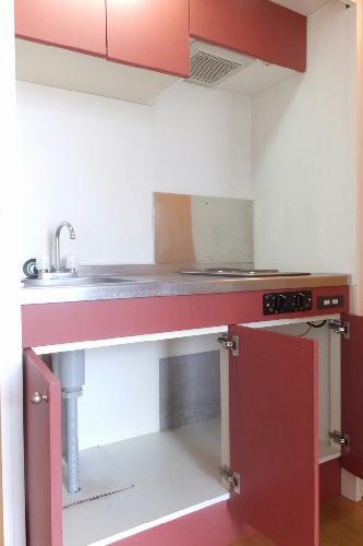 レオパレスさんらいず 207号室のキッチン