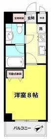 桜・タニエール・203号室の間取り