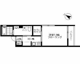 CLOVER HOUSE 壱番館・301号室の間取り