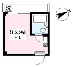 エクセル東長崎・302号室の間取り