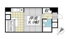 メゾン・ド・ヴィレ 東神田・0404号室の間取り