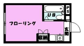 鹿浜マンション・203号室の間取り