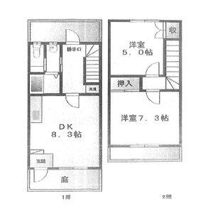 Rハウス仏生寺・D-28号室の間取り