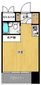 プチメゾン室見・314号室の間取り