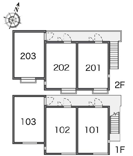 レオパレスグッディ 201号室のその他