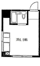 誠心Ⅲビル・303号室の間取り