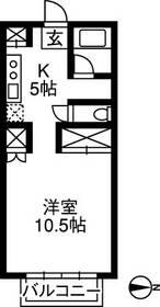 TOYOUKEハイツ・103号室の間取り