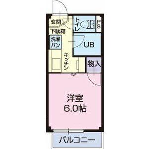 サープラスⅠ HIGASHIBORA・205号室の間取り