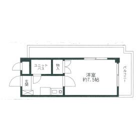 フォート金沢八景相川ビルⅡ・401号室の間取り