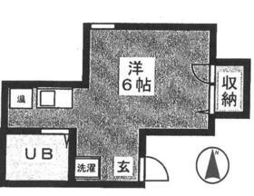 石原ガイビル貳番館 206号室の間取り