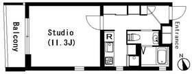 ラティエラ学芸大学・303号室の間取り