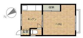 辰巳ハウス・305号室の間取り