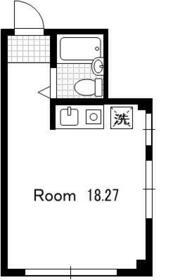 テルサMG・301号室の間取り