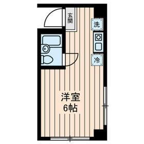 吉川ビル・0602号室の間取り