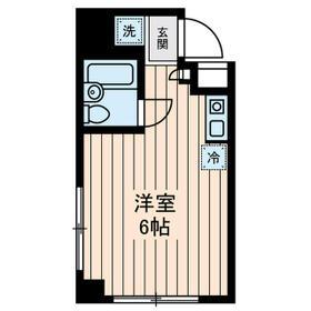 吉川ビル・0603号室の間取り