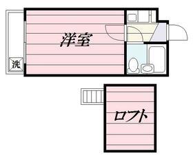 ジュネパレス松戸第09・0103号室の間取り