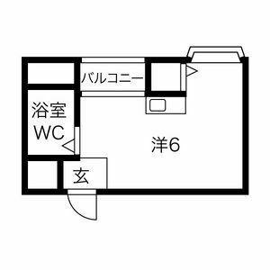 プレアール井高野・203号室の間取り