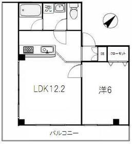 KURAMOCHIビル・301号室の間取り