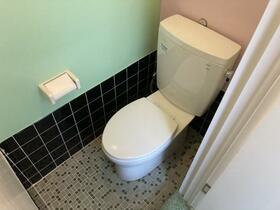 松風マンション 303号室のトイレ