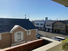 松風マンション 303号室の景色
