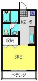 ハイツTUKASA・0101号室の間取り