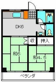 第一斉藤マンション・0302号室の間取り