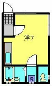 山田ハイツ・0101号室の間取り