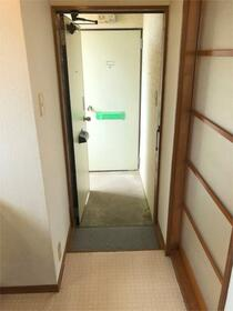 メゾンプラシード 201号室の玄関