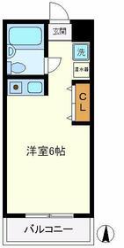 コーポ富士見・303号室の間取り