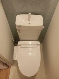 ZOOM東神田 403号室のトイレ