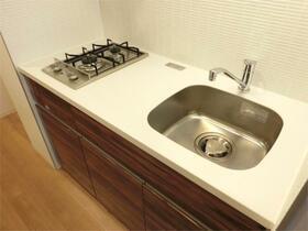 ZOOM東神田 403号室のキッチン