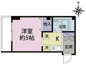 ガーデンハウス新川崎・301号室の間取り