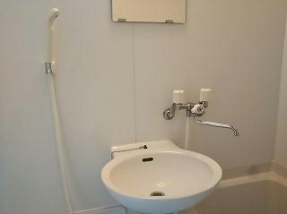 レオパレスグラン ビュイッソン 202号室の洗面所