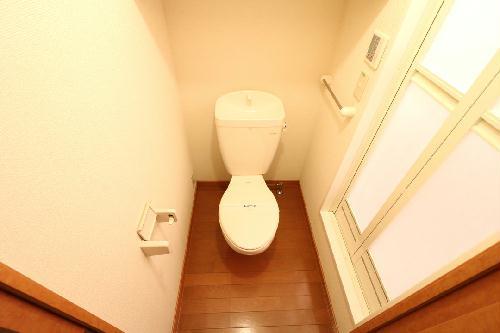 レオパレスグラン ビュイッソン 202号室のトイレ
