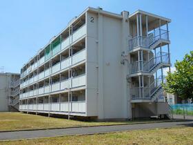 ビレッジハウス富木島1号棟の外観