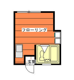ピュアハウス神大寺1番館・101号室の間取り