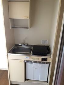 シャルムミユキ 201号室のキッチン