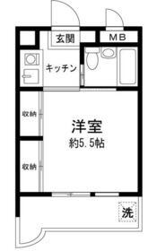 パールピア上福岡・103号室の間取り