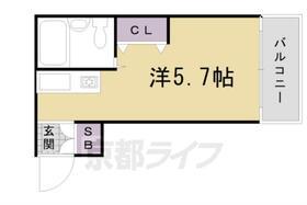シャトー5・303号室の間取り